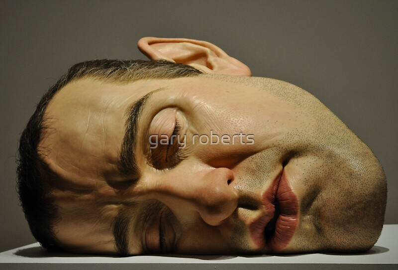 Quot Ron Mueck Mask Ii Quot By Gary Roberts Redbubble