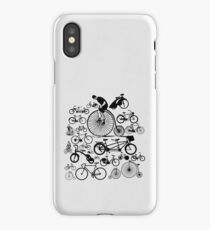 Bicycles iPhone Case/Skin