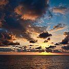 Atlantic Sunset by David Lewins