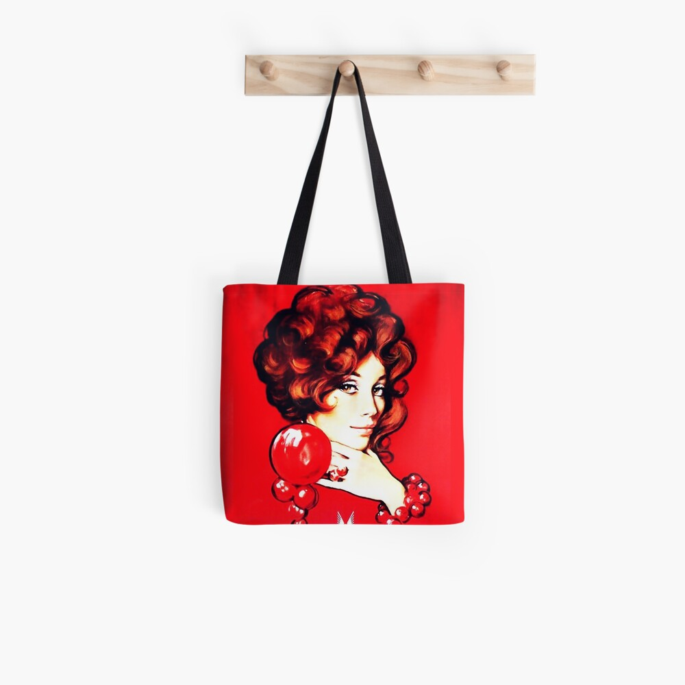 Red Lady Vintage Publicidad Bolsa de tela