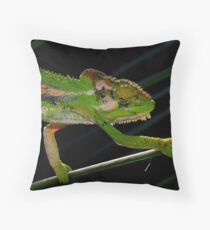 Don't look down............!! Throw Pillow