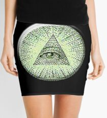 Eye of Providence, American, USA, Mystic, Dollar, Bill, Money, Freemasonry, All Seeing Eye, Pyramid, Masonic, America Minirock