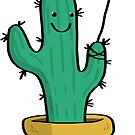Cute Cactus by Bronte Carr