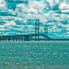 The Mackinac Bridge by Bryan D. Spellman
