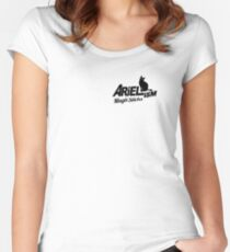 Arielism Rules Fitted Scoop T-Shirt