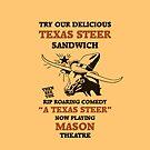 Texas Steer Sandwich von aapshop