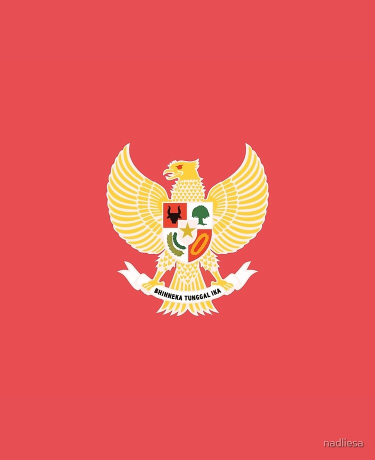 Garuda Pancasila Ipad Case Skin By Nadliesa Redbubble