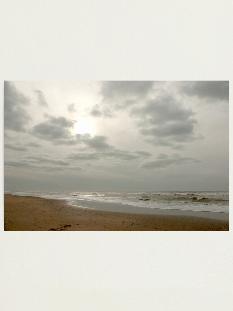 Alternate view of Where sun, clouds, wind and water meet Photographic Print