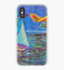 Tempera Sketch - A Gift for a Kid. 2014 iPhone Case