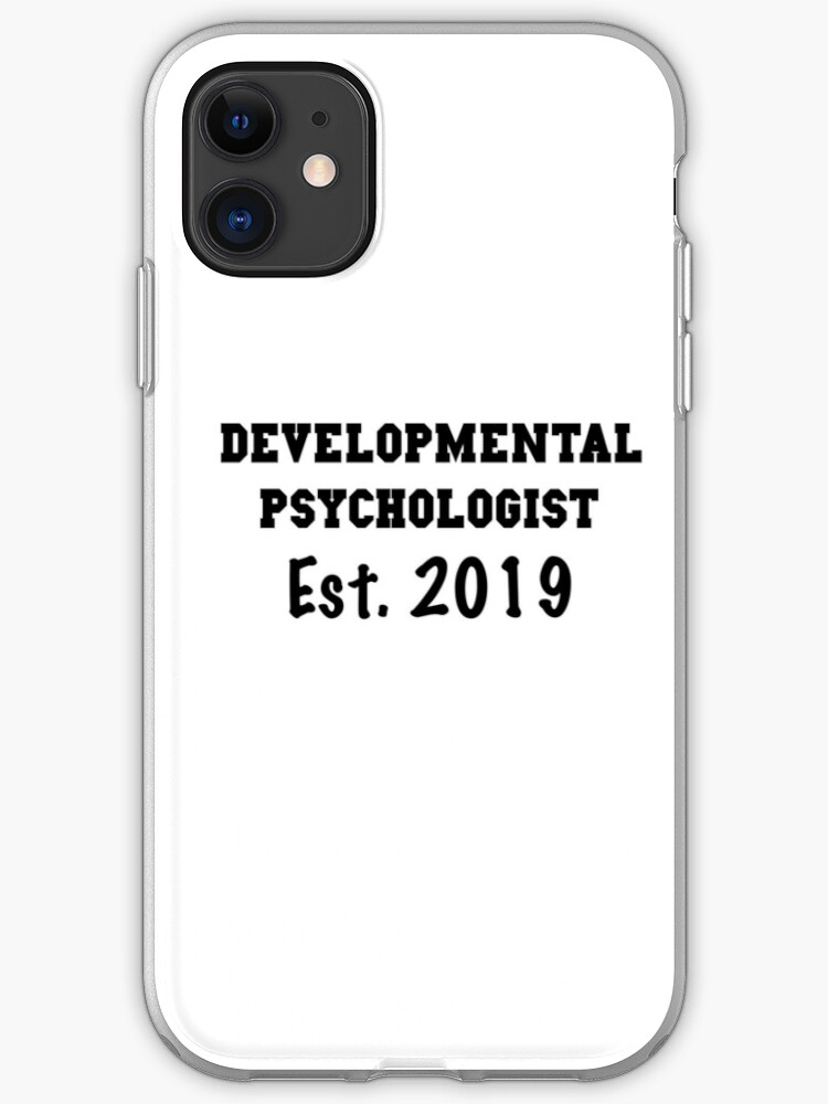 Psych minimalist poster iphone case