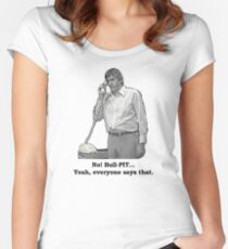 Bull-PIT! Women's Fitted Scoop T-Shirt