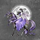 «Unicornio oscuro y hada» de LCWaterworth