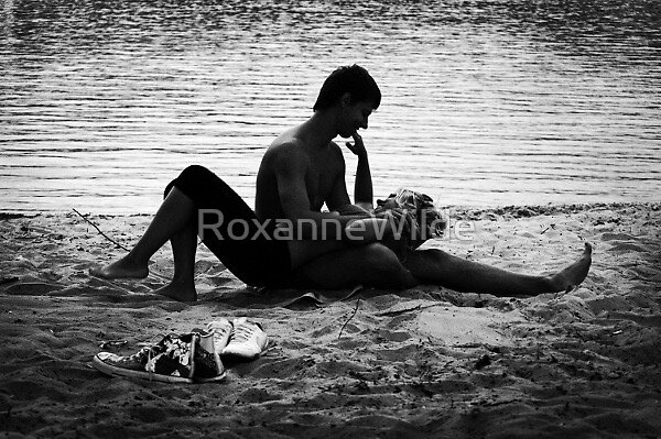 Day At The Beach by RoxanneWilde