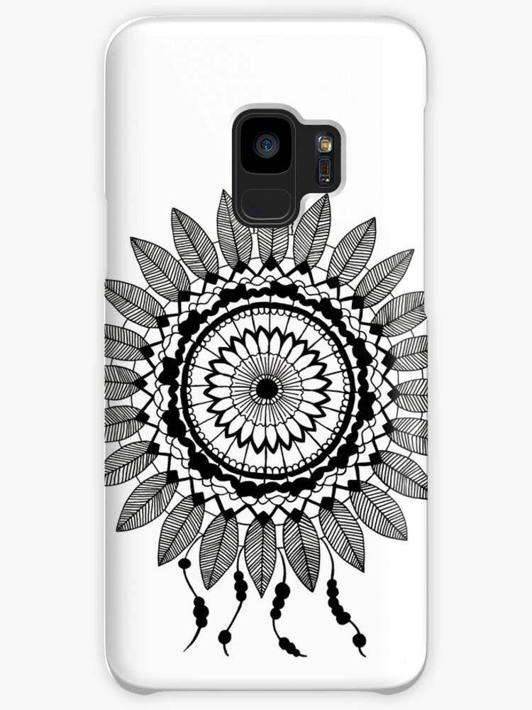 Fundas Y Vinilos Para Samsung Galaxy Atrapasueños En Blanco Y Negro