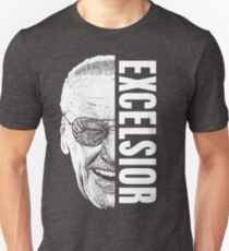 Excelsior, Perfect Stan Lee Shirt Slim Fit T-Shirt