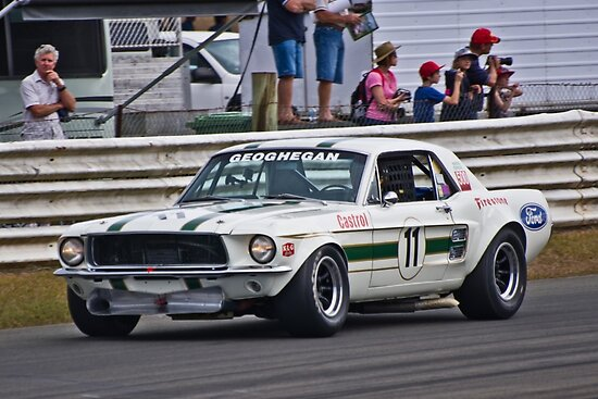 Pete Geoghegan 67 Ford Mustang GTA by TGrowden