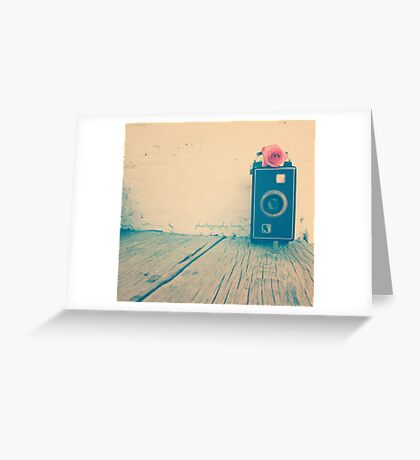 photography love. Greeting Card