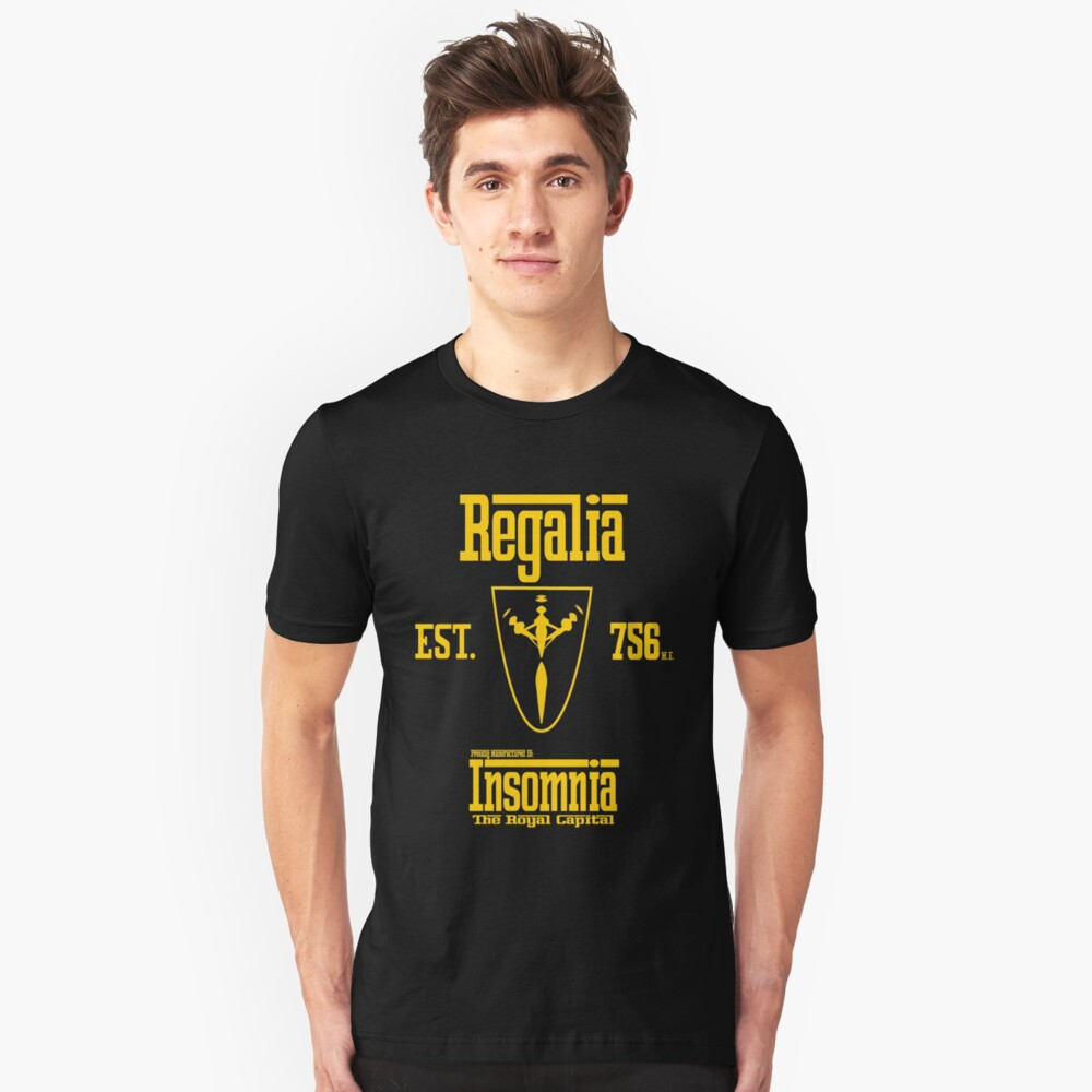 Regalia Motors-Final Fantasy XV Slim Fit T-Shirt