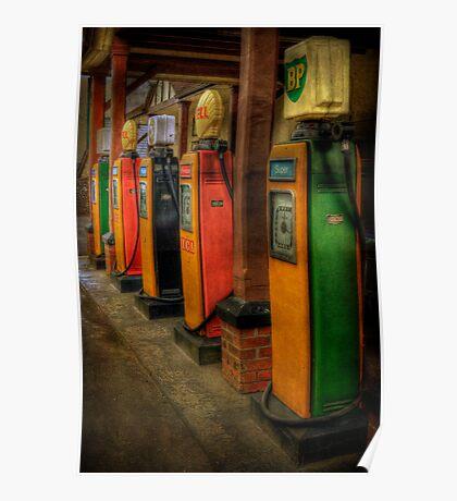 Vintage Pumps Poster