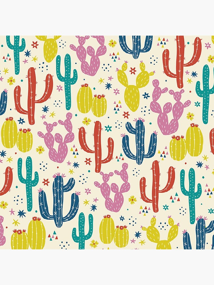 Colorful Cactus Print by CultClothing