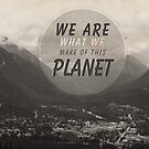 We Are What We Make Of This Planet by Ewan Arnolda