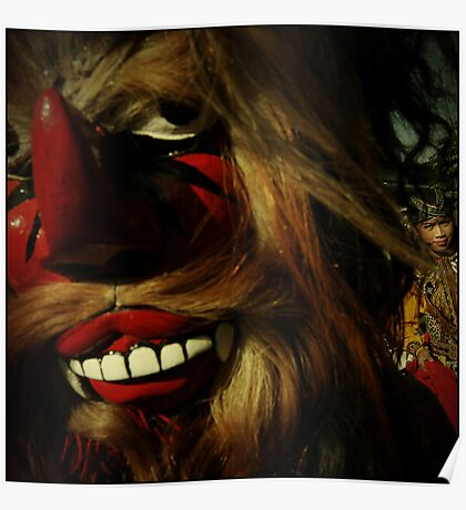The Reog Dancer Poster
