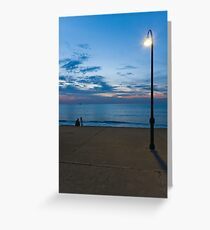 Twilight in Saint-Malo - 001 Greeting Card