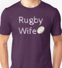 Rugby Wife T-shirt Unisex T-Shirt