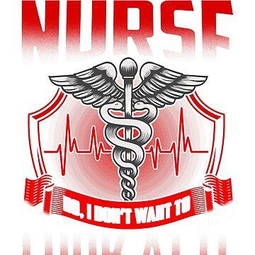 Ja, ich bin eine Krankenschwester von frittata
