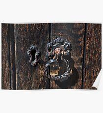 Knocking on wood Poster
