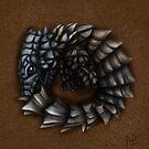 Girdled Armadillo Lizard by mattfossen