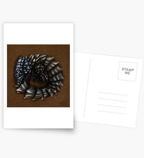 Girdled Armadillo Lizard Postcards