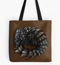 Girdled Armadillo Lizard Tote Bag