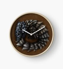 Girdled Armadillo Lizard Clock