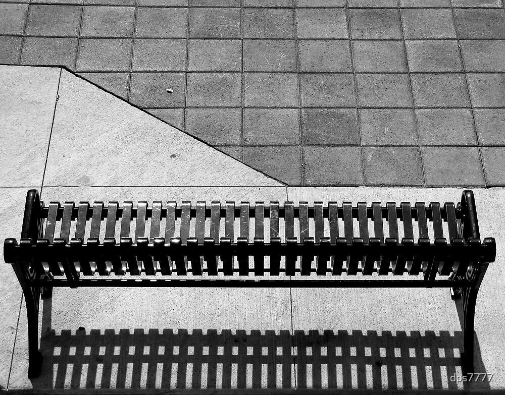 Empty Bench by David Schroeder