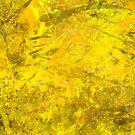 Yellow and Orange Splattered Texture Pattern by Shan Shankaran