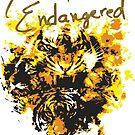 Defending the Endangered - Tiger Logo by Jon Mack