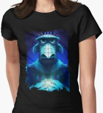 Muppet Maniac - Sam the Eagle as Pinhead Women's Fitted T-Shirt