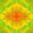 Multicolored Reptilian Pattern Design by Shan Shankaran