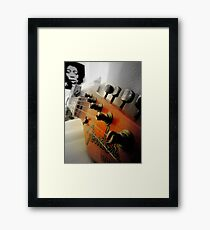 As Jimmy watches over... Framed Print