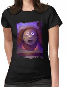 Muppet Maniac - Rowlf Lecter Womens Fitted T-Shirt