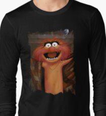 Muppet Maniacs - Animal as Buffalo Bill Long Sleeve T-Shirt