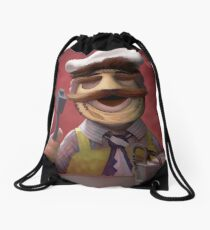 Muppet Maniacs - Swedish Chef as Leatherface Drawstring Bag