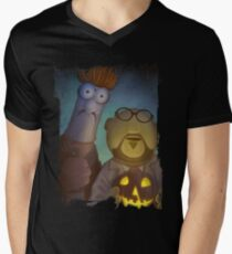 Muppet Maniacs - Beaker Myers & Dr. Honeyloomis Men's V-Neck T-Shirt