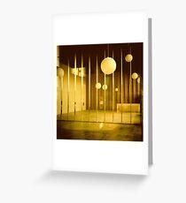 Empty Storefront - Portland Oregon Greeting Card