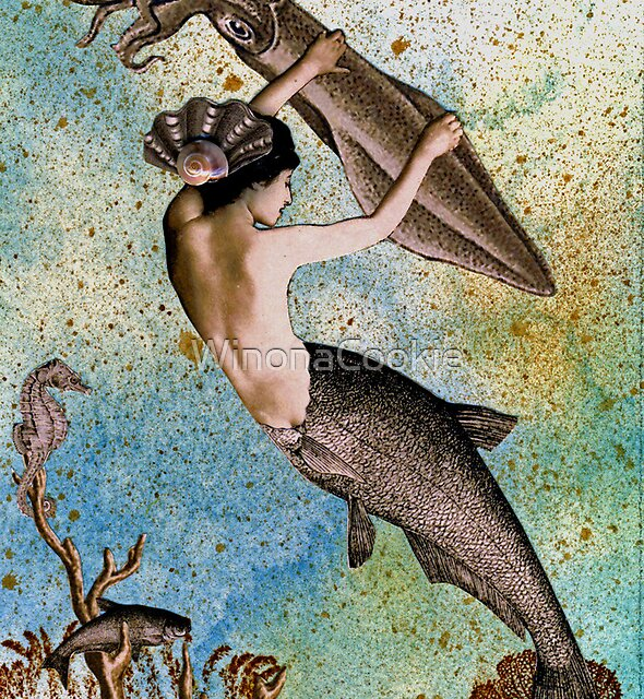 Aquamarina the Mermaid by WinonaCookie