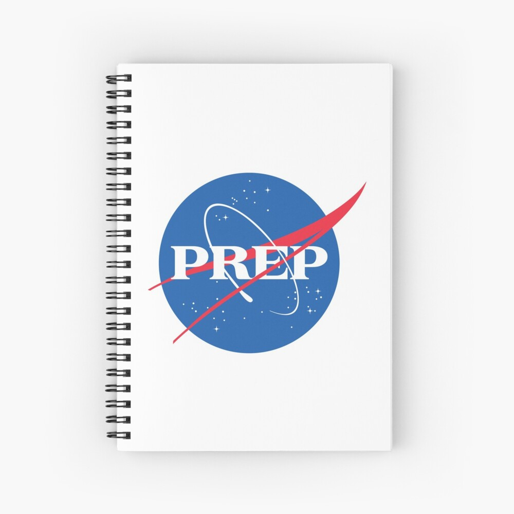 NASA PrEP Spiral Notebook