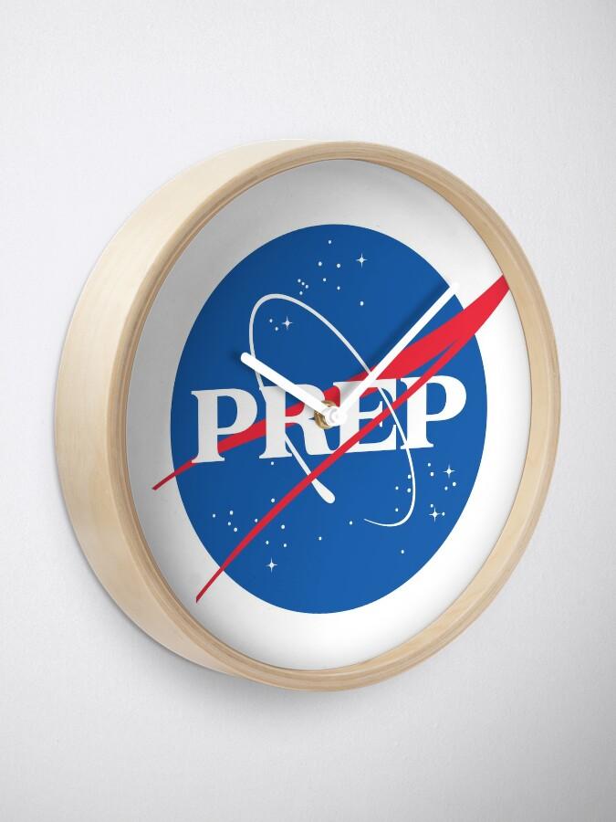 Alternate view of NASA PrEP Clock