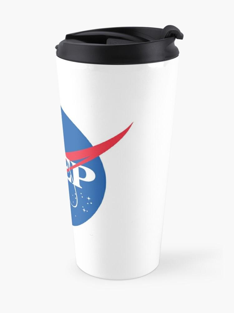 Alternate view of NASA PrEP Travel Mug