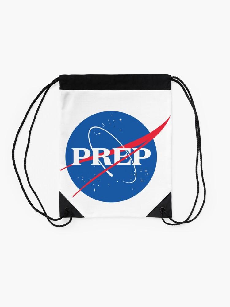 Alternate view of NASA PrEP Drawstring Bag